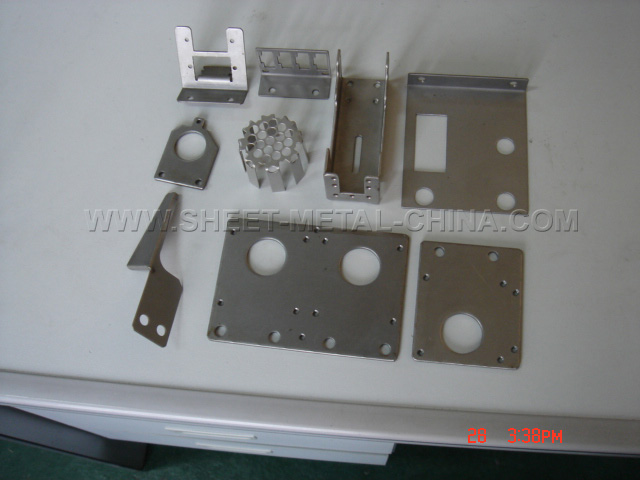 CNC punch, stamping,CNC bending, Steel bracket, sheet metal punch