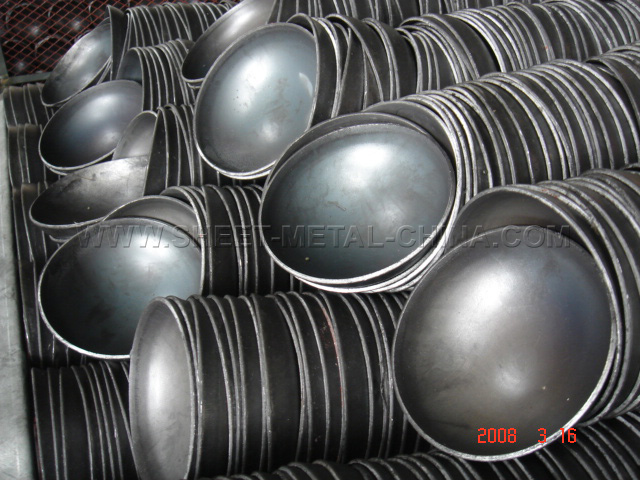 steel pipe cap, stamping parts, sheet metal product